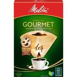 Filtres à café 1x4 Gourmet