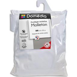 Protège matelas molleton 160x200 cm blanc