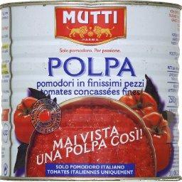 Polpa, tomates concassées fines
