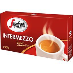 Segafredo Café Intermezzo les 3 paquets de 250 g