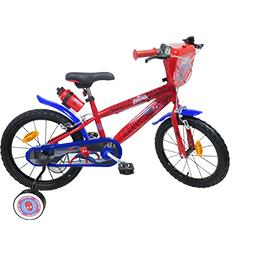 Vélo 16'' Spider-man rigide monovitesse 2 freins