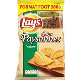 Chips paysannes nature