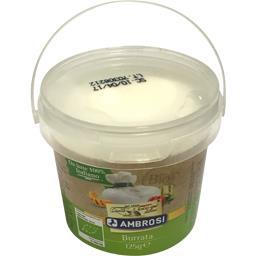 Ambrosi Burrata le pot de 120 g net égoutté