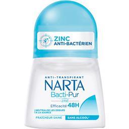 Anti transpirant Bacti Pur 48h, fraîcheur saine