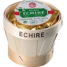 Beurre de baratte Echiré d'Excellence demi-sel AOP
