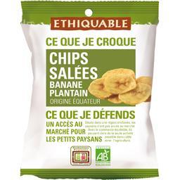 Chips salées banane plantain
