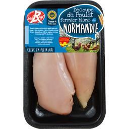 Filets de poulet fermier de Normandie blanc Label Rouge