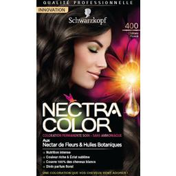 Nectra Color - Coloration châtain foncé n°400