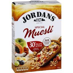 Céréales Spécial Muesli 30% fruits & noix