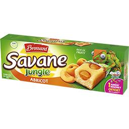 Savane - Gâteaux Jungle abricot
