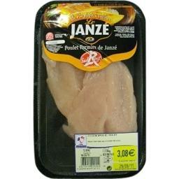 Escalopes de poulet fermier Label Rouge