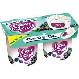 Cœur de Fruit - Yaourt cassis myrtille