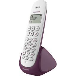 Téléphone Dect Aura 150 solo aubergine