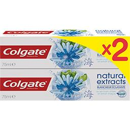 Colgate Dentifrice Natural Extracts blancheur éclatante