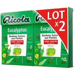 Bonbons eucalyptus sans sucres