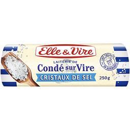 Elle & Vire Le Beurre de Condé-sur-Vire aux cristaux de sel