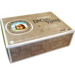 Les 2 marmottes Coffret Découverte infusion & thé la boite de 72 sachets - 117 g