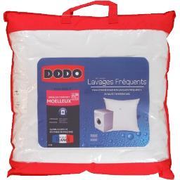 Oreiller confort moelleux lavages fréquents 60 x 60 ...