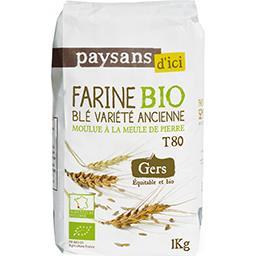 Farine blé variété ancienne T80 BIO