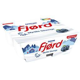 Fjord - Yaourts à la myrtille sauvage