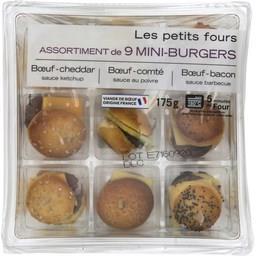 Assortiment de mini Burgers