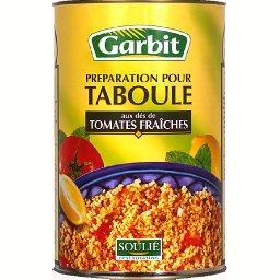 Préparation pour taboulé aux dés de tomates fraîches