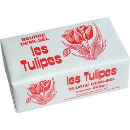 Beurre demi-sel Les Tulipes