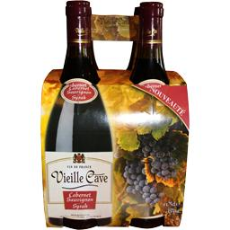 Vin de france cabernet-sauvignon syrah, vin rouge