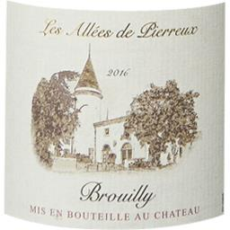 Brouilly vin rouge, 2016