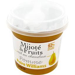 Mijoté de Fruits pomme poire Williams