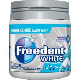 Freedent White - Chewing-gum menthe douce sans sucres