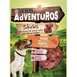 Mini sticks arôme bison pour chiens