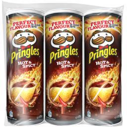 Pringles Biscuits apéritif Hot & Spicy