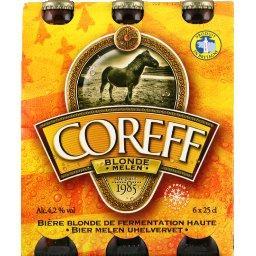Coreff Bière blonde de fermentation haute