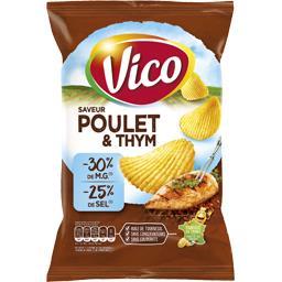 Chips poulet & thym allégées en matières grasses et ...