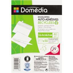 Enveloppes auto-adhésives recyclées 11,4x16,2 cm