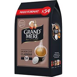 Grand' Mère Grand'Mère Dosettes de café moulu Classique