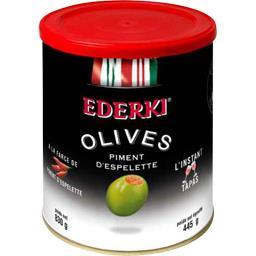 Olives a la farce de piment d'espelette
