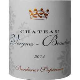 Bordeaux supérieur, vin rouge