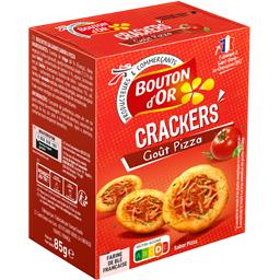 Crackers goût pizza