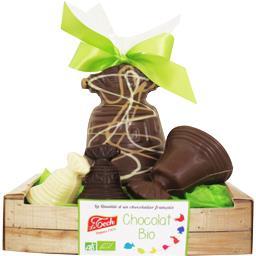 Cagette clochettes chocolat BIO