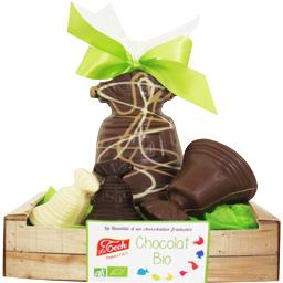 Le Tech Cagette clochettes chocolat BIO la cagette de 170 g