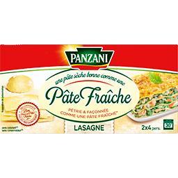 Panzani Pâtes Qualité Pâte Fraîche Lasagnes 400 g