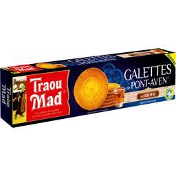 Traou Mad de Pont-Aven Les Galettes de Pont-Aven au rhum la boite de 12 - 100 g