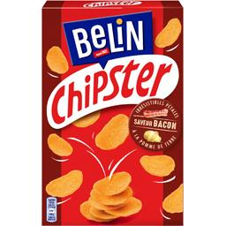 Chipster - Biscuits apéritif saveur bacon