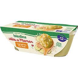 Les Idées de Maman - Courgettes riz veau, de 12 à 36...