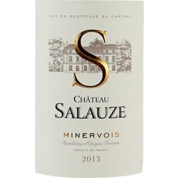 Château salauze turcy, vin rouge