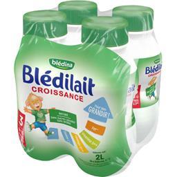 Blédilait Croissance - Lait bébé liquide, de 10 mois...