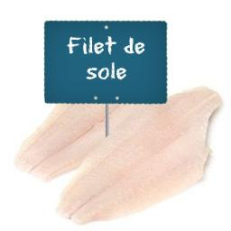 Filet de SOLE La portion à la demande à partir de 150gr