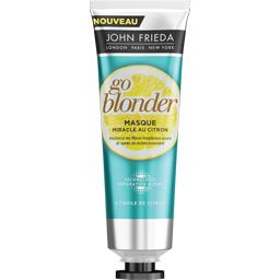 Masque miracle au citron Go Blonder pour cheveux